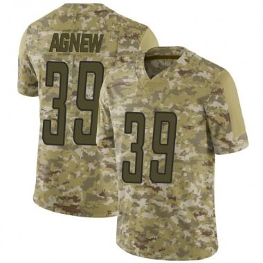 Men's Nike Detroit Lions Jamal Agnew 2018 Salute to Service Jersey - Camo Limited
