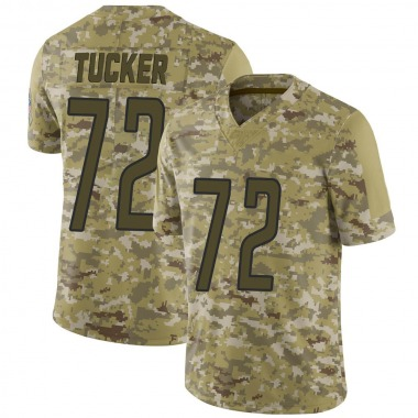Youth Nike Detroit Lions Casey Tucker 2018 Salute to Service Jersey - Camo Limited