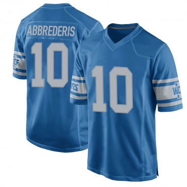 Youth Nike Detroit Lions Jared Abbrederis Throwback Vapor Untouchable Jersey - Blue Game