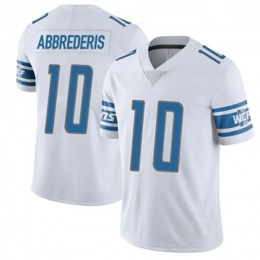 Youth Nike Detroit Lions Jared Abbrederis Vapor Untouchable Jersey - White Limited