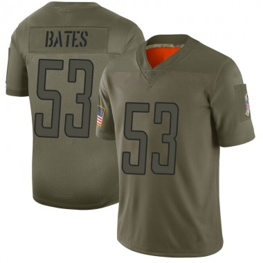 Youth Nike Detroit Lions Trevor Bates 2019 Salute to Service Jersey - Camo Limited